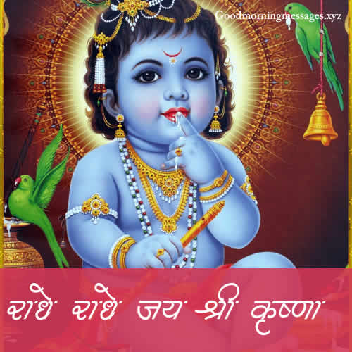 Good Morning Jai Shree krishna Quotes in Hindi